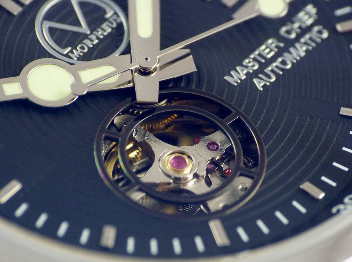 Culinary Master Chef Watch  Exhibition Movement